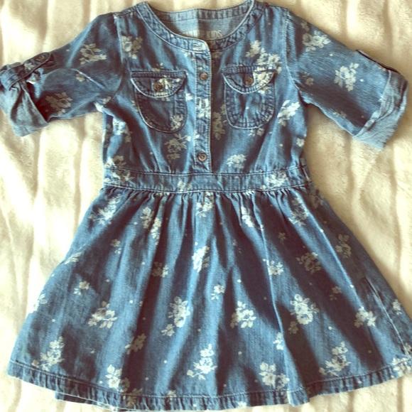 OshKosh B'gosh Other - Toddler girls denim dress